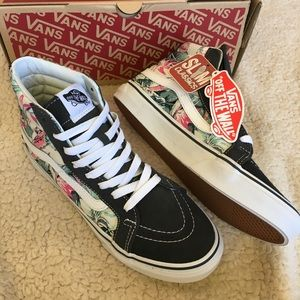 7152071cc1 Vans Shoes - NWT Vans Sk8-Hi Slim Tropical Sneakers